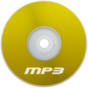128x128px size png icon of Mp3 Yellow