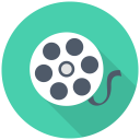 128x128px size png icon of Film