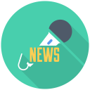 128x128px size png icon of News Mic iPhone
