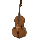 128x128px size png icon of contrabass