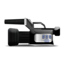 128x128px size png icon of pro video cam
