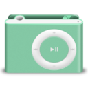 128x128px size png icon of Shuffle Green