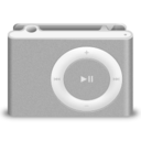 128x128px size png icon of Shuffle Grey