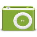 128x128px size png icon of Shuffle Lime