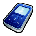 128x128px size png icon of Creative Zen Micro Navy