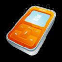 128x128px size png icon of Creative Zen Micro Orange