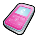 128x128px size png icon of Creative Zen Micro Pink