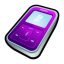 128x128px size png icon of Creative Zen Micro Purple