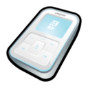 Creative Zen Micro White Icon