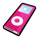 128x128px size png icon of IPod Nano Pink