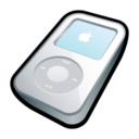 128x128px size png icon of IPod Video White