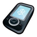 128x128px size png icon of Microsoft Zune Black