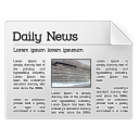 128x128px size png icon of news