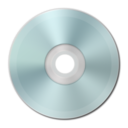 128x128px size png icon of Blue Vista Metallic CD