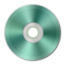 128x128px size png icon of Light Green Metallic CD