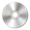 128x128px size png icon of Light Silver CD