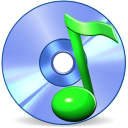 128x128px size png icon of Music disk SH