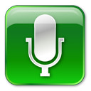 128x128px size png icon of Microphone Hot
