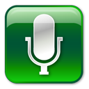 128x128px size png icon of Microphone Normal
