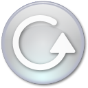 128x128px size png icon of Play All Disabled