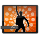 128x128px size png icon of Disco