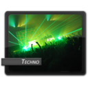 128x128px size png icon of Techno