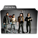 128x128px size png icon of Fall Out Boy