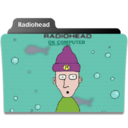 128x128px size png icon of Radiohead