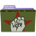128x128px size png icon of Rage Against The Machine