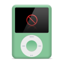 128x128px size png icon of Nano Green plugged