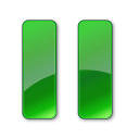 128x128px size png icon of Pause Hot