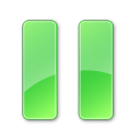 128x128px size png icon of Pause Pressed