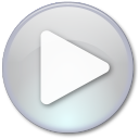 128x128px size png icon of Play Disabled