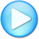 128x128px size png icon of Play Pressed
