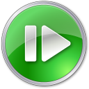 128x128px size png icon of Step Forward Hot