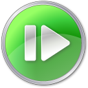 128x128px size png icon of Step Forward Pressed