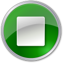 128x128px size png icon of Stop Normal