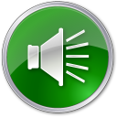 128x128px size png icon of Volume Normal