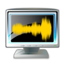 128x128px size png icon of audio wave