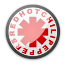 128x128px size png icon of Red hot chili peppers 5