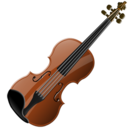 128x128px size png icon of Violin