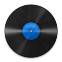 128x128px size png icon of Vinyl Blue 512