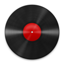 128x128px size png icon of Vinyl Red 512