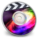 128x128px size png icon of iDVD Galaxy