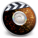 128x128px size png icon of iDVD Solar Flare
