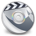128x128px size png icon of iDVD Steel 01