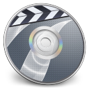 128x128px size png icon of iDVD Steel 03