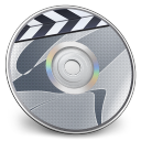 128x128px size png icon of iDVD Steel 04
