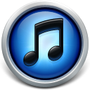128x128px size png icon of blue