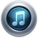 128x128px size png icon of iTunes10 Graphite